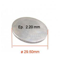 Moteur - Pastille ø 29.50 mm - Ep 2.20 - Jeu aux soupapes