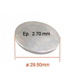 Moteur - Pastille ø 29.50 mm - Ep 2.70 - Jeu aux soupapes