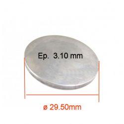 Moteur - Pastille ø 29.50 mm - Ep 3.10 - Jeu aux soupapes