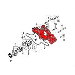 Pompe a eau - Couvercle - Cx 500