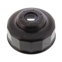 Douille de démontage filtre a huile - 65 mm - avec cliquet