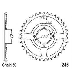 Transmission - Couronne JTR 246 - 530/37 dents