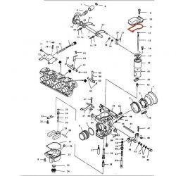 Carburateur CR - Joint de couvercle de boisseau - 1031-802-200