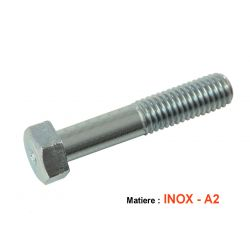 Vis - Hexagonale - Inox - M8 x1.25 x100mm - (x1) - DIN931