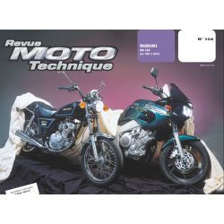 RTM - N° 104-1 - Suzuki GN125 - Revue Technique moto - Version PDF