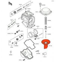 Carburateur - Boisseau - ZX-6R - ZZR600 - 161261253