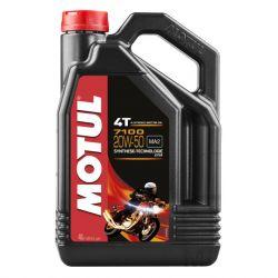 Moteur - Huile - MOTUL 7100 -  Synthese - 20W50 - 4 Litres