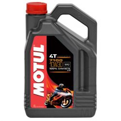 Moteur - Huile - MOTUL 7100 -  Synthese - 10W30 - 4 Litres