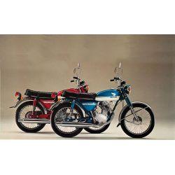 CB125S - SL125 - RTM - N° 008  - Version PDF - Revue Technique moto