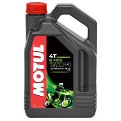Moteur - Huile - MOTUL 5100 - Semi-Synthese - 15W50 - 4 Litres