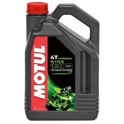 Moteur - Huile - MOTUL 5100 - Semi-Synthese - 10W30 - 4 Litres