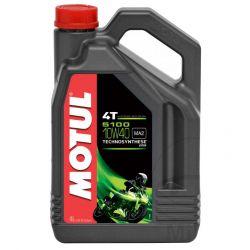 Moteur - Huile - MOTUL 5100 - Semi-Synthese - 10W40 - 4 Litres