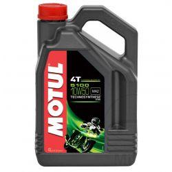 Moteur - Huile - MOTUL 5100 - Semi-Synthese - 10W50 - 4 Litres