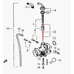 Carburateur - Aiguille
