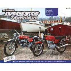 Revue Technique Moto - RTM - N° 26 - Version PAPIER - CB125T/TII -
