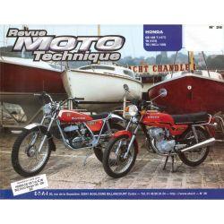 Revue Technique Moto - RTM - N° 26 - Version PAPIER - CB125T/TII -