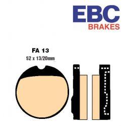 Frein - Plaquette EBC - FA-013V - Metal fritté.- cb250/350/360/400/500/550 .