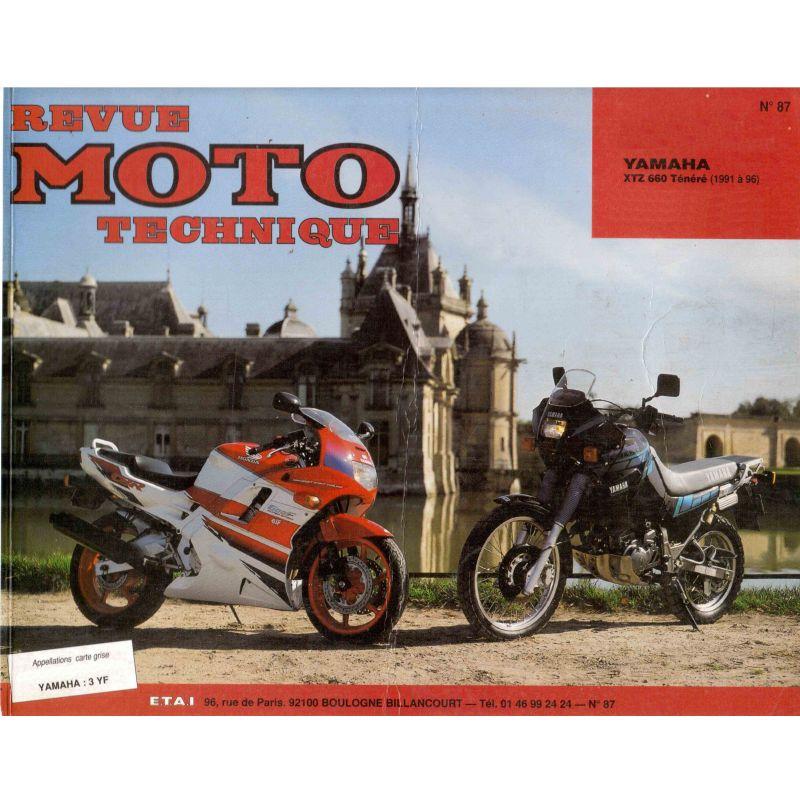 RTM - N° 087-2 - XTZ660 - Revue Technique moto - Version PDF