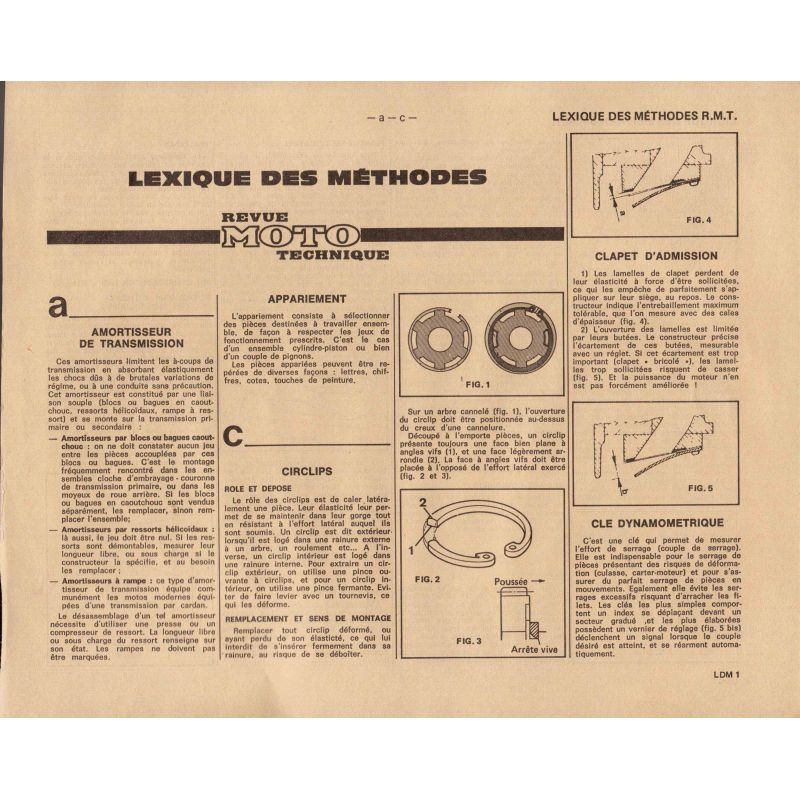 RTM - Additif - Lexique des methode - Version PDF
