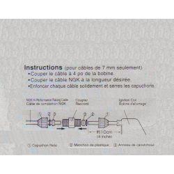 Bougie - cable - Prologateur pour fil de bougie