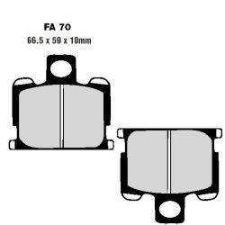 Frein - Plaquette - EBC - Standard - FA-070