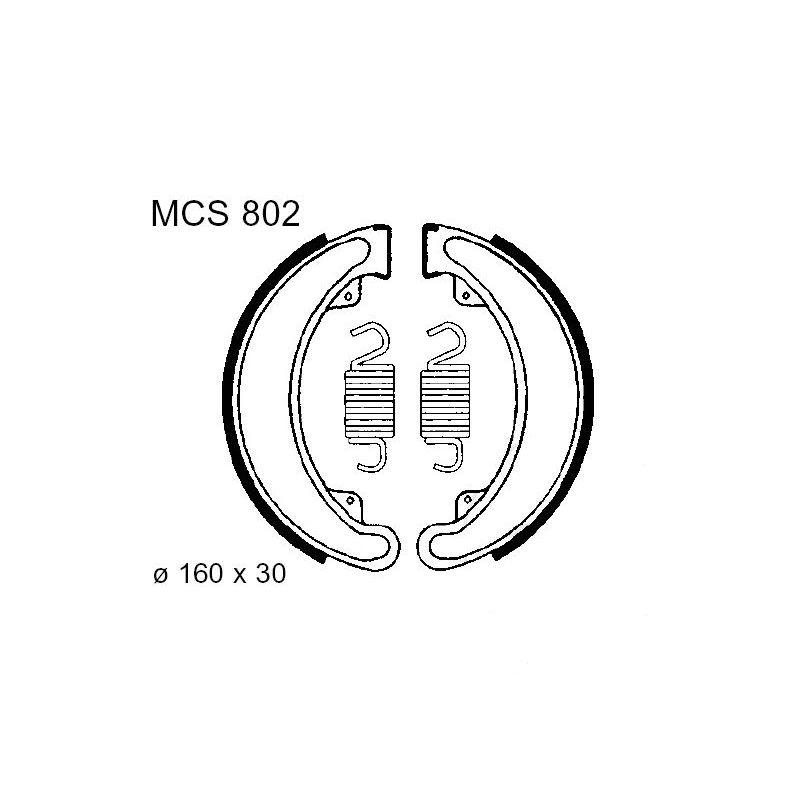 Frein - Machoire - 160x30 -  TRW - MCS-802