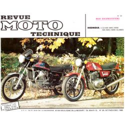 CX400 - CX500 - CX650 - GL500/650 - RTM - N° 039-2 - Version PDF - Revue Technique moto