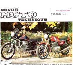 XS500 - N° 039-1 - Version PDF - Revue Technique moto