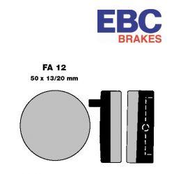 Frein - Plaquette - Semi Synth. - EBC - CB750 K0-K6
