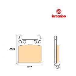 Frein - Plaquette BREMBO - 07HO0411 - GL1000 - CB750F1