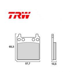 Frein - Plaquette TRW - MCB-063