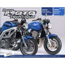 RTM - N° 131 - SV650 - CB900F (Hornet) - Revue Technique moto - Version PAPIER