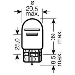 Ampoule - 12V - 21/5W - W3X16Q - T20