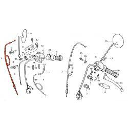 Cable - Frein AV. - CM125T
