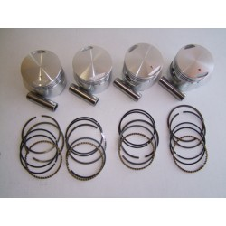 Moteur - Kit Piston ø61.00 - (x4) - CB 750 Four K0-K6 (+0.00)