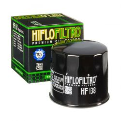 Filtre a huile - Hiflofiltro - HF-138 - GSX/SV/DL...VX 650/750/ ..../1100/1500 ....
