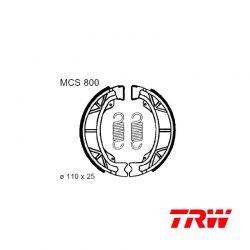 Frein - Machoires AV/AR - 110x25 - TRW - MCS-800