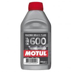 Liquide de Frein - DOT 4 - Haute temperature - Motul RBF 600 - 0.5 Litre -