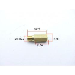 Gicleur Hexa. Keihin - Prefix CR - ø 0.80mm