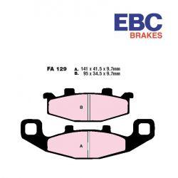 Frein - Plaquette - EBC - FA-129-HH - Synthetic