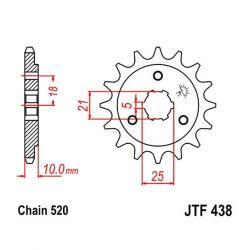 Transmission - Pignon - JTF - 438 - 14 Dents