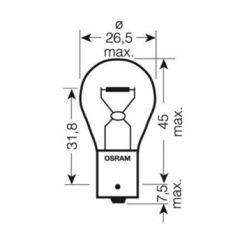 Ampoule - 12v - 21w - BA15S - Clignotant
