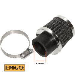 Filtre a air - ø28mm - EMGO - (x1)