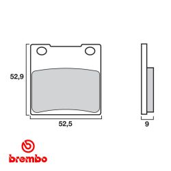 Frein - plaquette - BREMBO - 07KS0507