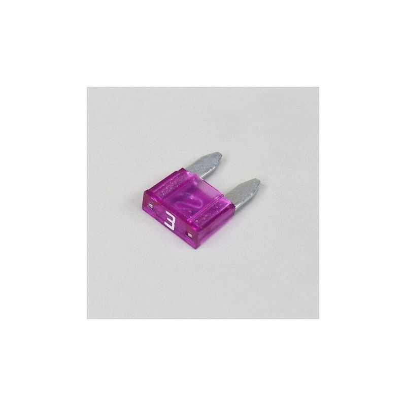 Fusible - Mini - 3A - Violet - Lg. 11mm