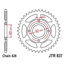 Transmission - Couronne - JTR - 837-428 - 39 dents