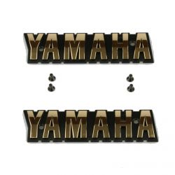 Embleme de reservoir - logo - YAMAHA - XS650 - 2F0-24161-10