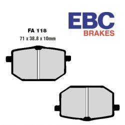 Frein - Plaquette - Standard - EBC - FA118