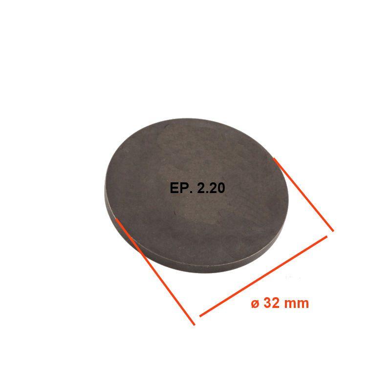 Moteur - Pastille - EP. 2.20 - ø 32 mm - Jeux aux soupapes