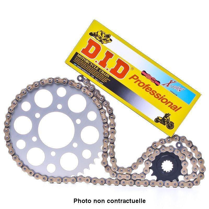Transmission - Kit chaine - DID - VX3 - Ouvert - Noir/Or - 530-106/16/38